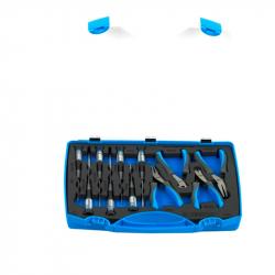 Unior - Garnitura elektroničarskih klešta i odvijača u plastičnoj kutiji - 403C