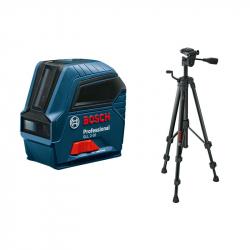 Bosch - Laser za linije GLL 2-10 Professional + stativ BT 150