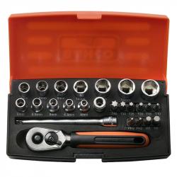 """Bahco - Set nasadnih ključeva 1/4"""" SL25"""