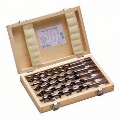 Bosch - 6-delni set spiralnih burgija za drvo - 160 mm