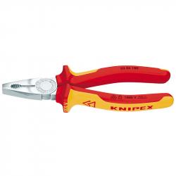 Knipex - Izolovana kombinovana klešta 180 mm
