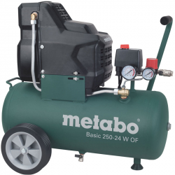 Metabo - Kompresor basic bezuljni 250-24 W OF