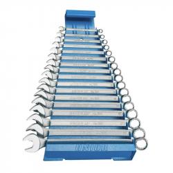 Unior - Ključevi viljuškasto-okasti dugi na metalnom stalku - 120/1MS