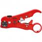Knipex - Striper za coax i telefonske kablove 16 60 06 SB - 16 60 06 SB
