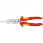 Knipex - VDA izolovana električarska klešta 200mm sa 6 funkcija - 13 86 200
