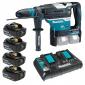 Makita - Akumulatorska bušilica-čekić DHR400K 4x5Ah DP - DHR400KAKC195AHDP
