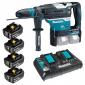 Makita - Akumulatorska bušilica-čekić DHR400K 4x3Ah DP - DHR400KAKC193AHDP