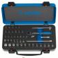 """Unior - Ključevi nasadni i nastavci 1/4"""", u metalnoj kutiji - 188B - 615150"""