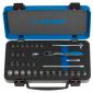"""Unior - Ključevi nasadni i nastavci-1/4"""", u metalnoj kutiji - 188C - 615151"""