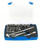 """Unior - Ključevi nasadni, prihvat 1/2"""", u plastičnoj kutiji - 190-6P17 - 622022"""