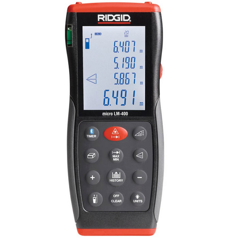 Ridgid - Micro LM-400 Advanced Laserski daljinomer